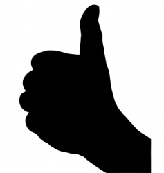finger signs vector image vector image