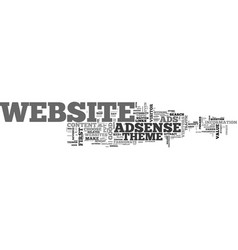 Adsense the best website for adsense text word vector