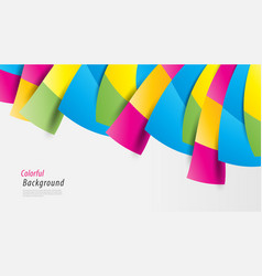 colorful abstract background multicolored vector image