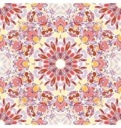 Mandala round seamless pattern vector