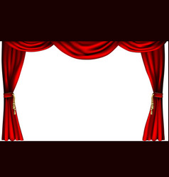 Theatre or cinema curtains vector