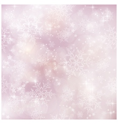 Soft and blurry Winter Christmas pattern vector image