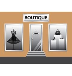 boutique vector image vector image