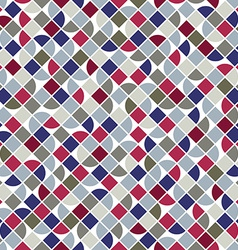 Colorful geometric background squared abstract vector