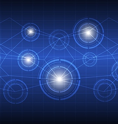 future digital concept technology vector image