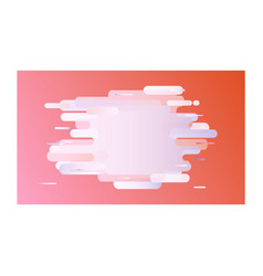 modern banner with gradient in pastel colors vector image