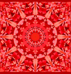 red seamless abstract triangle mosaic vector image