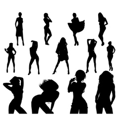 Sexy girls vector