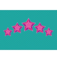 Star pictogram vector image