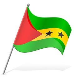 flag of Sao Tome Principe vector image vector image