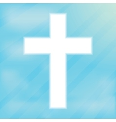 Sign of the Cross Christianity vector image
