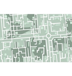 map of the city vector image vector image