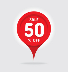 sale concept graphic vector image
