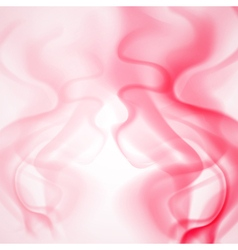 Abstract background of red smoke vector image vector image