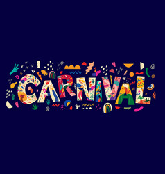 carnival2 vector image