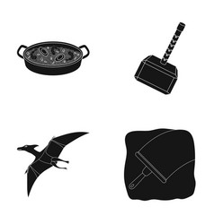 Cleaning travel and or web icon in black style vector