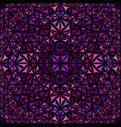 purple repeating kaleidoscope pattern background vector image