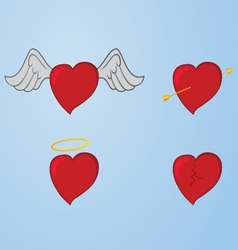 variation of loves vector image