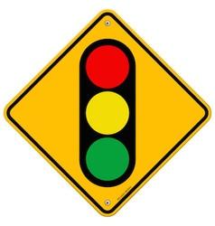 Traffic Light Symbol vector image vector image
