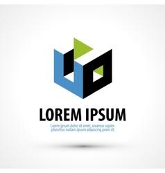 Education trade mark logo design template vector