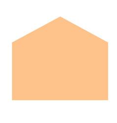 envelope carton icon realistic style vector image