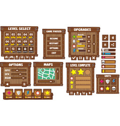 Game gui 5 vector