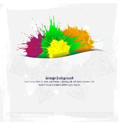 Minimal Indian template in a grunge style vector