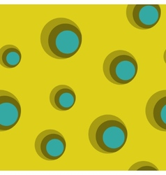 Seamless backgrounds with circles vector