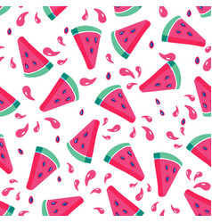 summer seamless pattern seamless background with vector image