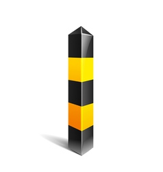 Stripe Pole vector image vector image