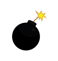 bomb vector image