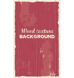 Wood background texture vector image vector image