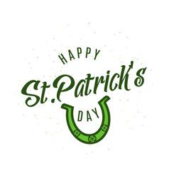 happy patricks day vector image vector image