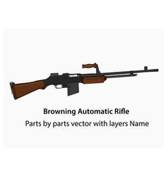 Bar-machine-gun vector