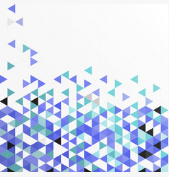 geometric graphic abstract mosaic background vector image