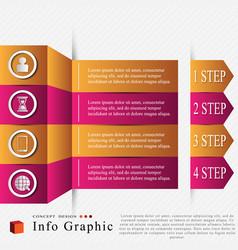 Info graphic vector