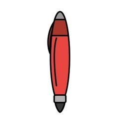 pen school supply isolated icon vector image