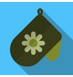Potholder flat icon vector