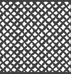 simple seamless pattern abstract textile cells vector image