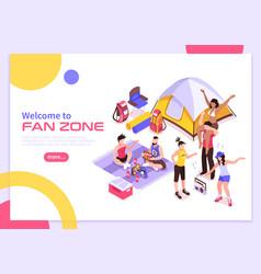 summer music festival summer poster vector image
