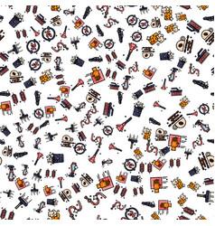 car wash pattern vector image vector image