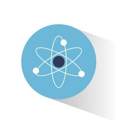 atom molecule science school vector image