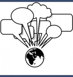 speech vector image vector image