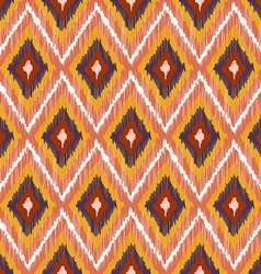 Abstract Modern Ethnic Seamless Fabric Pattern vector image