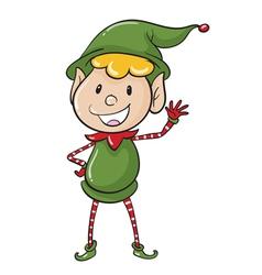 an elve vector image