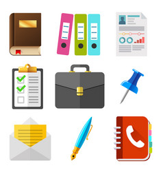 business icons set hr icon set vector image