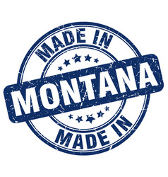 Made in montana vector