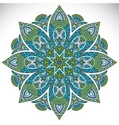 Mandala vector image