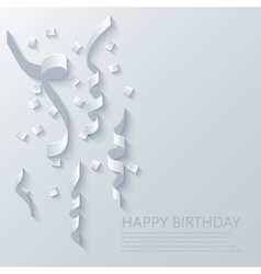 modern festive background holidays vector image
