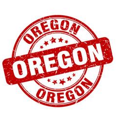 Oregon stamp vector